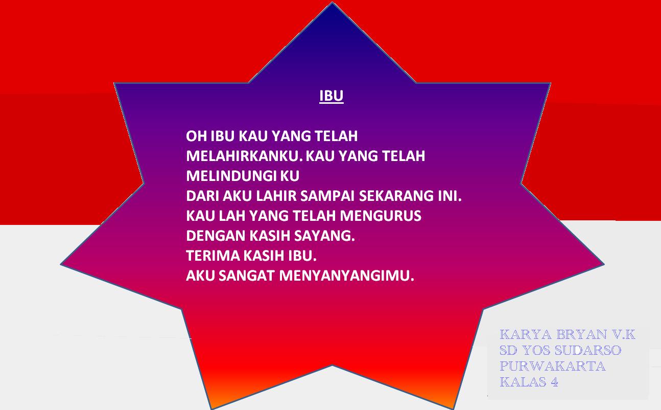 Kumpulan Puisi Ekskul Tik Sd Yos Sudarso Purwakarta Sd Yos Sudarso